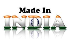 Κατασκευασμένος στην Ινδία διανυσματική απεικόνιση