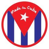 Κατασκευασμένος στην Κούβα Στοκ φωτογραφίες με δικαίωμα ελεύθερης χρήσης