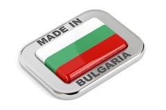 Κατασκευασμένος στη Βουλγαρία Στοκ Εικόνες