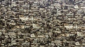 Κατασκευασμένος τοίχος πετρών στοκ εικόνες με δικαίωμα ελεύθερης χρήσης
