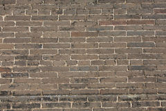κατασκευασμένος τοίχος τούβλου ανασκόπησης Στοκ Φωτογραφίες