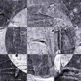 Κατασκευασμένο αφηρημένο ελεγμένο σχέδιο Grunge Στοκ Εικόνα