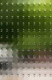 Κατασκευασμένο γυαλί με τους διαφανείς τομείς χρώματος Στοκ Εικόνα