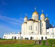 1158 κατασκευασμένο καλοκαίρι της Ρωσίας 1160 υπόθεσης καθεδρικός ναός vladimir Στοκ Φωτογραφία