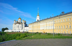 1158 κατασκευασμένο καλοκαίρι της Ρωσίας 1160 υπόθεσης καθεδρικός ναός vladimir Στοκ φωτογραφίες με δικαίωμα ελεύθερης χρήσης