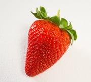 κατασκευασμένο λευκό φραουλών ανασκόπησης Στοκ φωτογραφίες με δικαίωμα ελεύθερης χρήσης