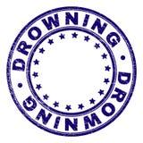 Κατασκευασμένο ΠΝΙΞΙΜΟ Grunge γύρω από τη σφραγίδα γραμματοσήμων απεικόνιση αποθεμάτων