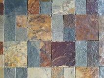 Κατασκευασμένο σχέδιο κεραμιδιών πετρών Στοκ Φωτογραφία