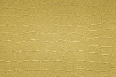 Κατασκευασμένο υπόβαθρο εγγράφου με τα χρυσά αποτελέσματα επιφάνειας Στοκ Εικόνα