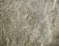 Κατασκευασμένο υπόβαθρο του γκρίζου τσαλακωμένου υφάσματος στοκ εικόνα με δικαίωμα ελεύθερης χρήσης