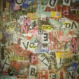 Κατασκευασμένο υπόβαθρο Grunge Στοκ Εικόνες