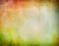 Κατασκευασμένο υπόβαθρο Grunge Watercolor Στοκ Φωτογραφία