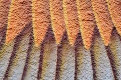 Κατασκευασμένο χρωματισμένο κλωστοϋφαντουργικό προϊόν υποβάθρου χρωμάτων Στοκ Εικόνες