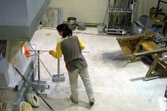 κατασκευαστής γυαλι&omicr Στοκ εικόνα με δικαίωμα ελεύθερης χρήσης