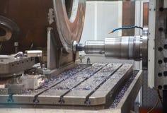 Κατασκευαστικός στο μέταλλο το βιομηχανικό εργοστάσιο Στοκ Εικόνες