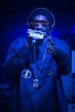 Κατασκοπεύστε Doog (κατασκοπεύει το λιοντάρι) αποδίδει στην κάμψη, Όρεγκον το 12-18-2012 Στοκ φωτογραφίες με δικαίωμα ελεύθερης χρήσης