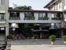 Καταστήματα αναμνηστικών, η εθνική λάρνακα του θείου ελέους σε Marilao, Bulacan Στοκ Εικόνες
