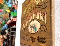 Καταστήματα ειδικότητας της παλαιάς πόλης αγοράς, Σαν Ντιέγκο, Καλιφόρνια Στοκ φωτογραφία με δικαίωμα ελεύθερης χρήσης