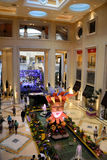 Καταστήματα ξενοδοχείων Palazzo στο Λας Βέγκας Στοκ Φωτογραφίες