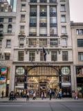 Καταστήματα πολυτέλειας, 5η λεωφόρος, πόλη της Νέας Υόρκης Στοκ φωτογραφίες με δικαίωμα ελεύθερης χρήσης
