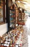 Καταστήματα σε Bascarsija, Σαράγεβο Στοκ Εικόνα