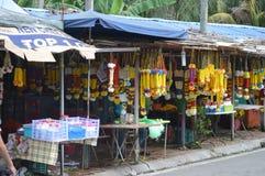 Καταστήματα στις σπηλιές Batu Στοκ εικόνα με δικαίωμα ελεύθερης χρήσης