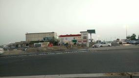 Καταστήματα στο νότο Jeddah στο πρωί απόθεμα βίντεο