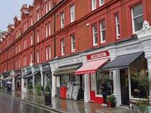 Καταστήματα του Λονδίνου στοκ φωτογραφία με δικαίωμα ελεύθερης χρήσης