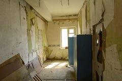 Καταστρέψτε και λεηλατήστε το κατάστημα των εγκαταστάσεων, οι οποίες ελειτούργησαν στοκ φωτογραφία με δικαίωμα ελεύθερης χρήσης