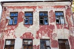 Καταστρέψτε τα κτήρια Βλάβη στοκ φωτογραφίες