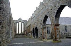 Καταστροφές αβαείων, Ardfert, Ιρλανδία Στοκ Εικόνες