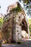 Καταστροφές από Porta Di SAN Sebastiano μέσω του antica Appia - Ρώμη Στοκ Φωτογραφία