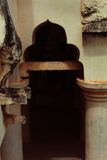 Καταστροφές αψίδων του παλατιού maratha thanjavur Στοκ Εικόνα