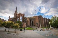 Καταστροφές εκκλησιών καθεδρικών ναών του Κόβεντρυ στο Κόβεντρυ UK στοκ φωτογραφία