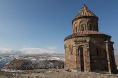 Καταστροφές εκκλησιών σε Ani, Τουρκία Στοκ φωτογραφία με δικαίωμα ελεύθερης χρήσης