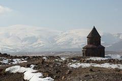 Καταστροφές εκκλησιών σε Ani, Τουρκία Στοκ εικόνα με δικαίωμα ελεύθερης χρήσης