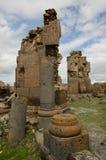 Καταστροφές εκκλησιών στην πόλη Ani, Τουρκία Στοκ φωτογραφίες με δικαίωμα ελεύθερης χρήσης