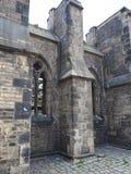 Καταστροφές εκκλησιών του Άγιου Βασίλη στο Αμβούργο Στοκ Εικόνες