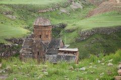 Καταστροφές εκκλησιών, ani, Τουρκία Στοκ Εικόνα