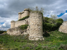 Καταστροφές ενός κάστρου σε Sesena, Λα Mancha, Ισπανία της Καστίλλης Στοκ φωτογραφίες με δικαίωμα ελεύθερης χρήσης