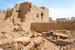 Καταστροφές ενός σπιτιού στο νότιο Μαρόκο Στοκ Εικόνες