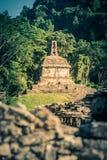 Καταστροφές επί του archeological τόπου Palenque, Chiapas, Μεξικό Στοκ Εικόνα