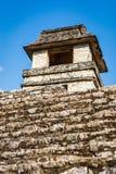 Καταστροφές επί του archeological τόπου Palenque, Chiapas, Μεξικό Στοκ φωτογραφία με δικαίωμα ελεύθερης χρήσης
