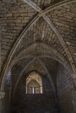 Καταστροφές εποχής σταυροφόρων στην Καισάρεια Ισραήλ Στοκ φωτογραφίες με δικαίωμα ελεύθερης χρήσης