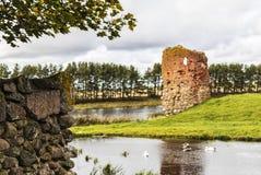 καταστροφές κάστρων Στοκ Φωτογραφίες