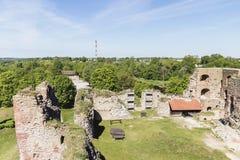 καταστροφές κάστρων Στοκ Εικόνα