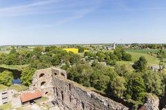 καταστροφές κάστρων Στοκ εικόνα με δικαίωμα ελεύθερης χρήσης