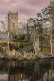 καταστροφές κάστρων Macroom Ιρλανδία Στοκ Εικόνες