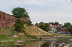 Καταστροφές κάστρων Vordingborg Στοκ Εικόνα