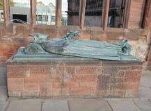 Καταστροφές καθεδρικών ναών του Κόβεντρυ Στοκ Εικόνα